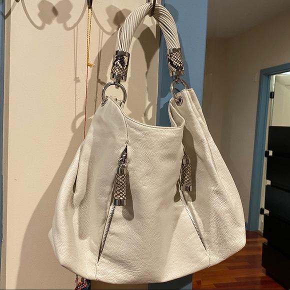 Michael Kors Cream Color Shoulder Bag